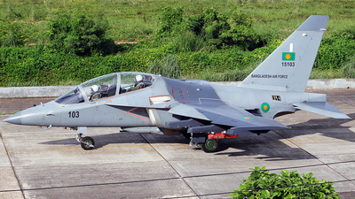 15103 - Yakovlev Yak-130 - Bangladesh - Air Force