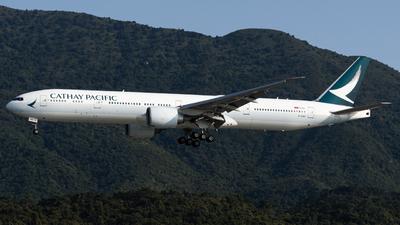 B-KQG - Boeing 777-367ER - Cathay Pacific Airways