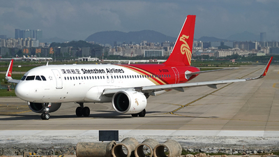 A picture of B300N - Airbus A320271N - Shenzhen Airlines - © Taohang Zhou
