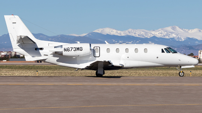 N673MG - Cessna 560XL Citation XLS - Private
