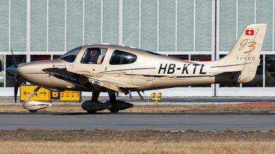 HB-KTL - Cirrus SR22-GTS G3 Turbo - Private