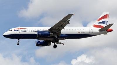 A picture of GEUYF - Airbus A320232 - British Airways - © Ben Cook