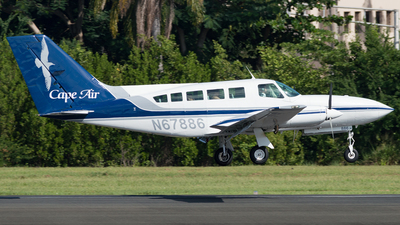 A picture of N67886 - Cessna 402C - Cape Air - © Westley Bencon