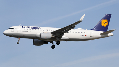 A picture of DAIUP - Airbus A320214 - Lufthansa - © Marvin Knitl