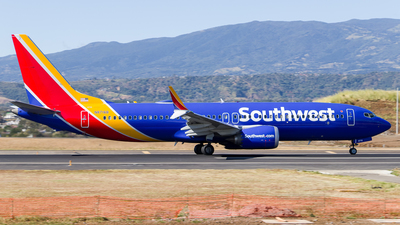 A picture of N8716B - Boeing 737 MAX 8 - Southwest Airlines - © luis corrales