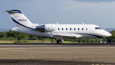N605PA - Bombardier CL-600-2B16 Challenger 605 - Private