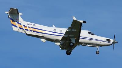 A picture of HBFOX - Pilatus PC12/45 - [334] - © Marcello Galzignato - Tuscan Aviation
