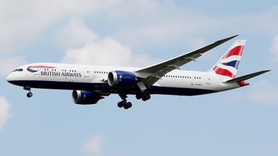 G-ZBKC - Boeing 787-9 Dreamliner - British Airways