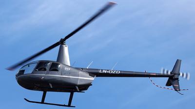 LN-OZD - Robinson R44 Raven - European Helicopter Center (EHC)