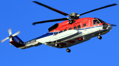 A picture of LNOQU - Sikorky S92A - CHC Helikopter Service - © Witold Ozimek