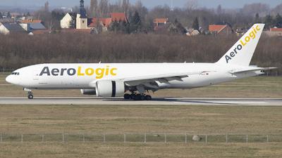 A picture of DAALC - Boeing 777FZN - AeroLogic - © Sebastian Schaffer