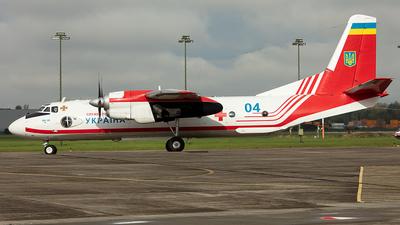 04 - Antonov An-26Sh - Ukraine - State Emergency Service
