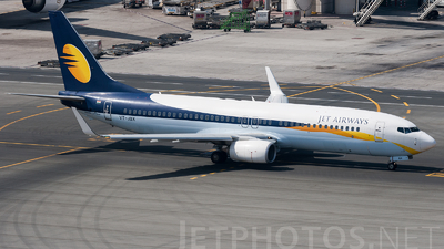 VT-JBX - Boeing 737-8AL - Jet Airways