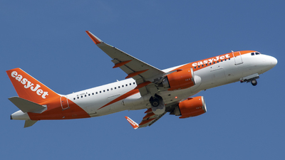 A picture of GUZLA - Airbus A320251N - easyJet - © Papp Sándor