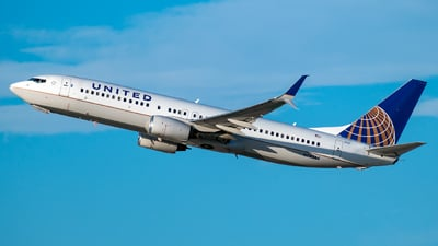 A picture of N78524 - Boeing 737824 - United Airlines - © Jehu Monterroso