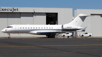 VH-CCX - Bombardier BD-700-1A10 Global Express - Private