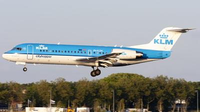 PH-KZM - Fokker 70 - KLM Cityhopper