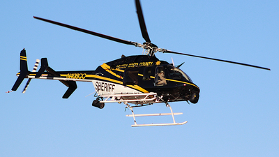 N408CC - Bell 407 - United States - Contra Costa County Sheriff