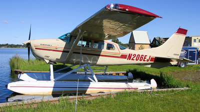 N206EJ - Cessna U206F Stationair - Private