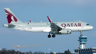 A7-AHW - Airbus A320-232 - Qatar Airways