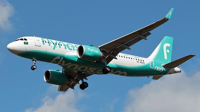 HZ-NS43 - Airbus A320-251N - Flynas