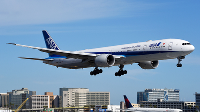 A picture of JA788A - Boeing 777381(ER) - All Nippon Airways - © Rocky Wang