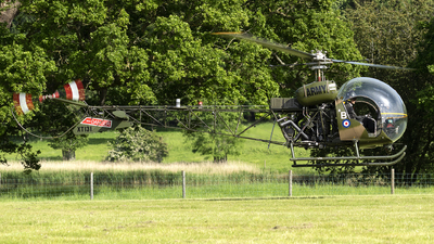 XT131 - Agusta-Bell Sioux AH.1 - United Kingdom - Army Air Corps Historic Flight
