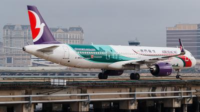 A picture of BMBQ - Airbus A321271NX - Air Macau - © Kevin Chung - AHKGAP