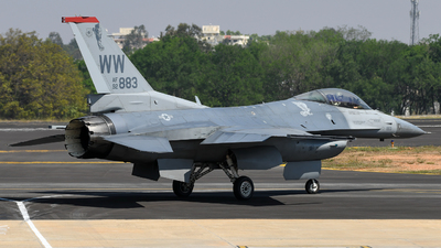 92-3883 - Lockheed Martin F-16C Fighting Falcon - United States - US Air Force (USAF)