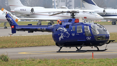 A picture of HBZJF - Eurocopter MBB Bo105 - [13] - © Eddie Heisterkamp