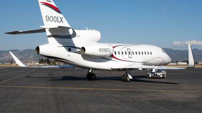 N316FJ - Dassault Falcon 900LX - Dassault Aviation