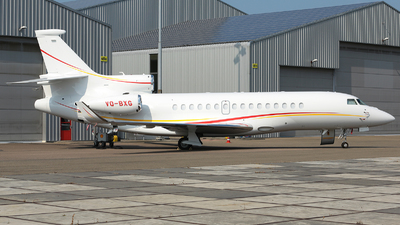 VQ-BXG - Dassault Falcon 8X - Shell Aviation