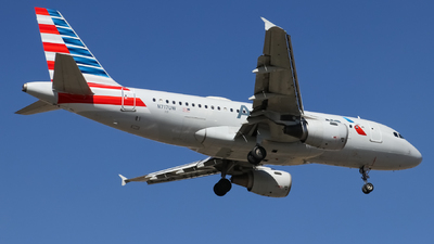 A picture of N717UW - Airbus A319112 - American Airlines - © Josué Villa
