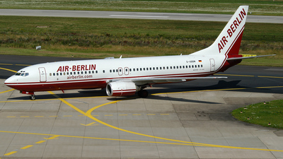 D-ABBM - Boeing 737-85F - Air Berlin