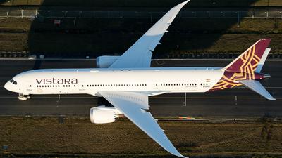 N1006F - Boeing 787-9 Dreamliner - Vistara