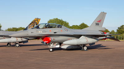 306 - General Dynamics F-16BM Fighting Falcon - Norway - Air Force