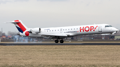 F-GRZE - Bombardier CRJ-701 - HOP! for Air France