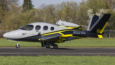 N52AG - Cirrus Vision SF50 G2 - Private