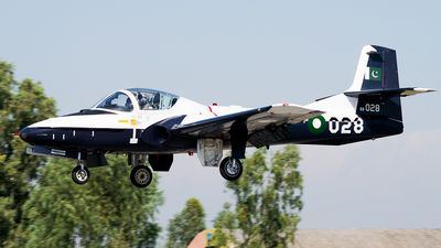 68-028 - Cessna T-37B Tweety Bird - Pakistan - Air Force