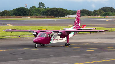 TI-BGK - Britten-Norman BN-2A-8 Islander - CostaRica Green Airways