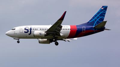 PK-CLC - Boeing 737-524 - Sriwijaya Air