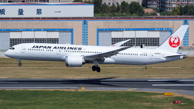 JA868J - Boeing 787-9 Dreamliner - Japan Airlines (JAL)