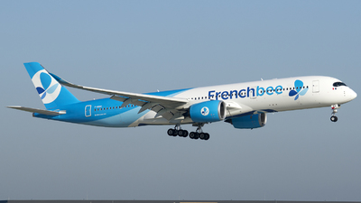 F-HREU - Airbus A350-941 - French Bee