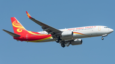 A picture of B1735 - Boeing 73786N - Hainan Airlines - © xuhaoqing995