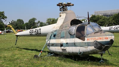 SP-SAO - PZL-Swidnik Mi-2 Hoplite - Private