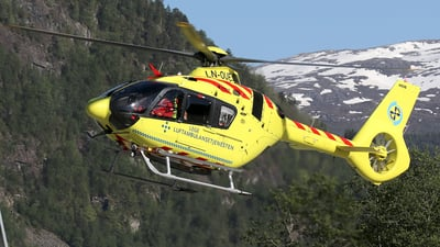 LN-OUF - Airbus Helicopters H135 - Norsk Luftambulanse