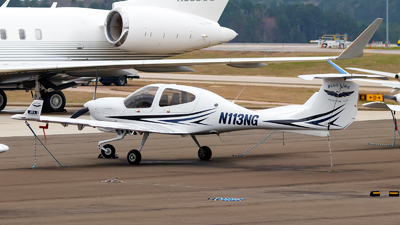 A picture of N113NG - Diamond DA40NG - [40.NC021] - © Oliver Richter