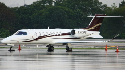 N575AR - Bombardier Learjet 75 - Private