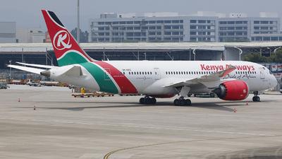 A picture of 5YKZC - Boeing 7878 Dreamliner - Kenya Airways - © CrazyChan