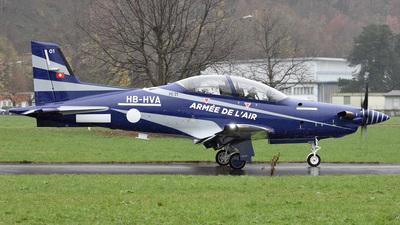 A picture of HBHVA - Pilatus PC21 - Pilatus Flugzeugwerke - © Mirko Bleuer